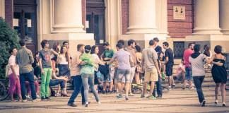 Treffpunkt für Junge Leute und Tanzwütige