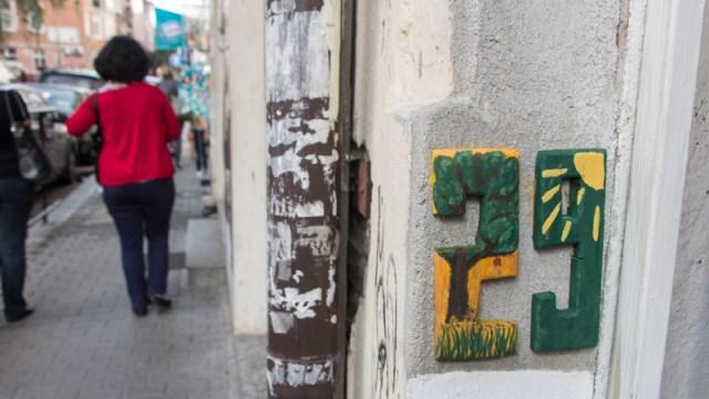 Hausnummern Street Art Sofia