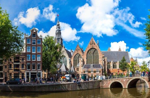Oude Kerk Amsterdam Altstadt