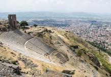 Rundreise Türkei Pergamon Amphitheater