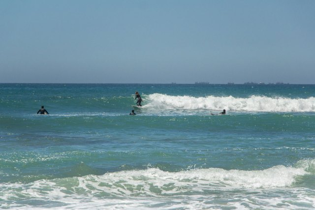 Jeffrey's Bay Surfer Beach