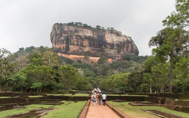 Sigiriya Rock - der Löwenfelsen