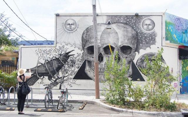 Miami Sehenswürdigkeiten Wynwood Streetart Skulls