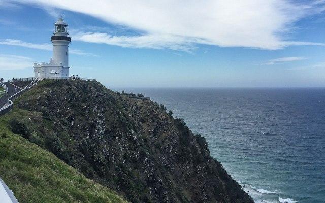 Australien Ostküste Leuchtturm am Cape Byron