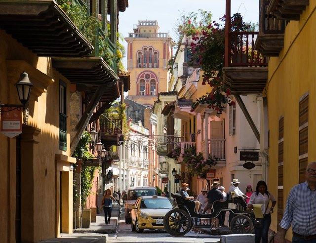 Altstadt von Cartagena in Kolumbien