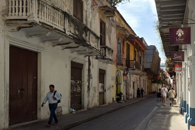 Altstadt Cartagena nicht komplett renoviert