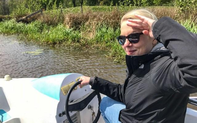 Holland Lekkerradeln Fluesterboot