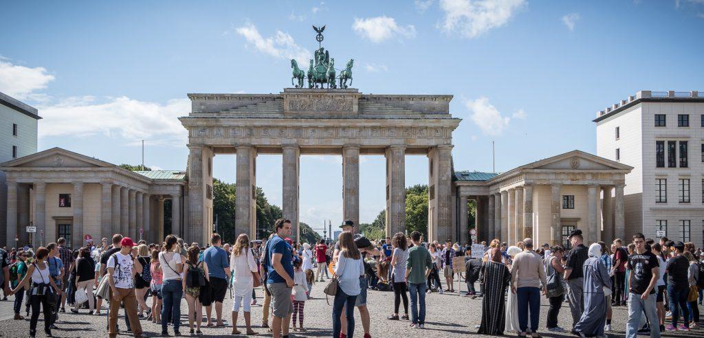 berlijn brandenburger poort