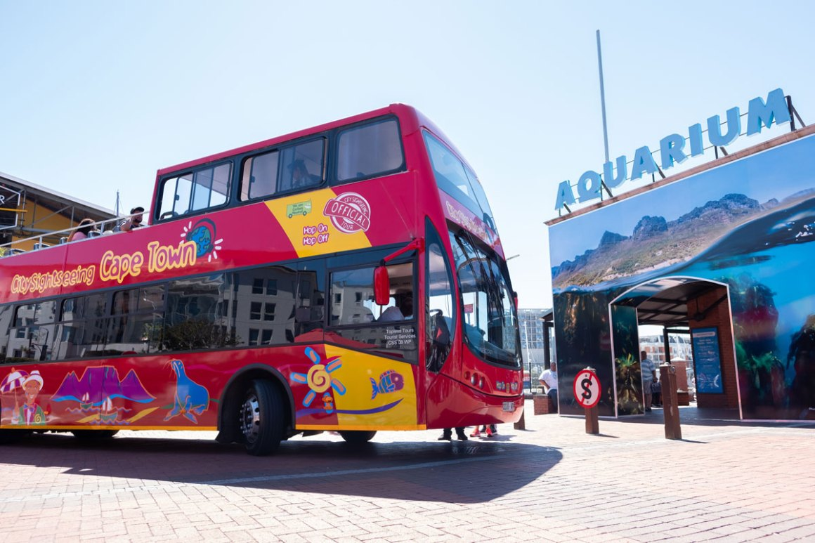 City Sightseeing Bus Kapstadt