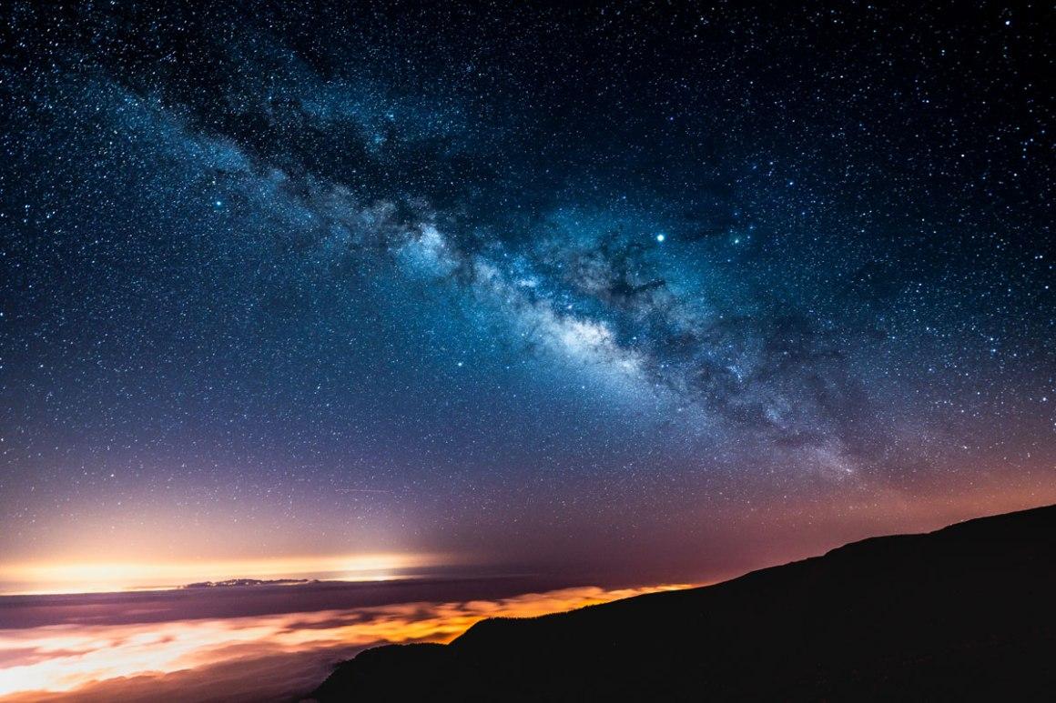 Melkweg Tenerife Teide