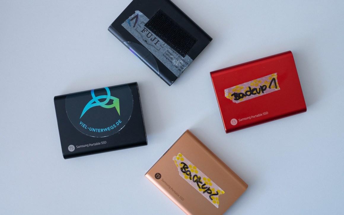 Harde schijven Samsung Portable SSD