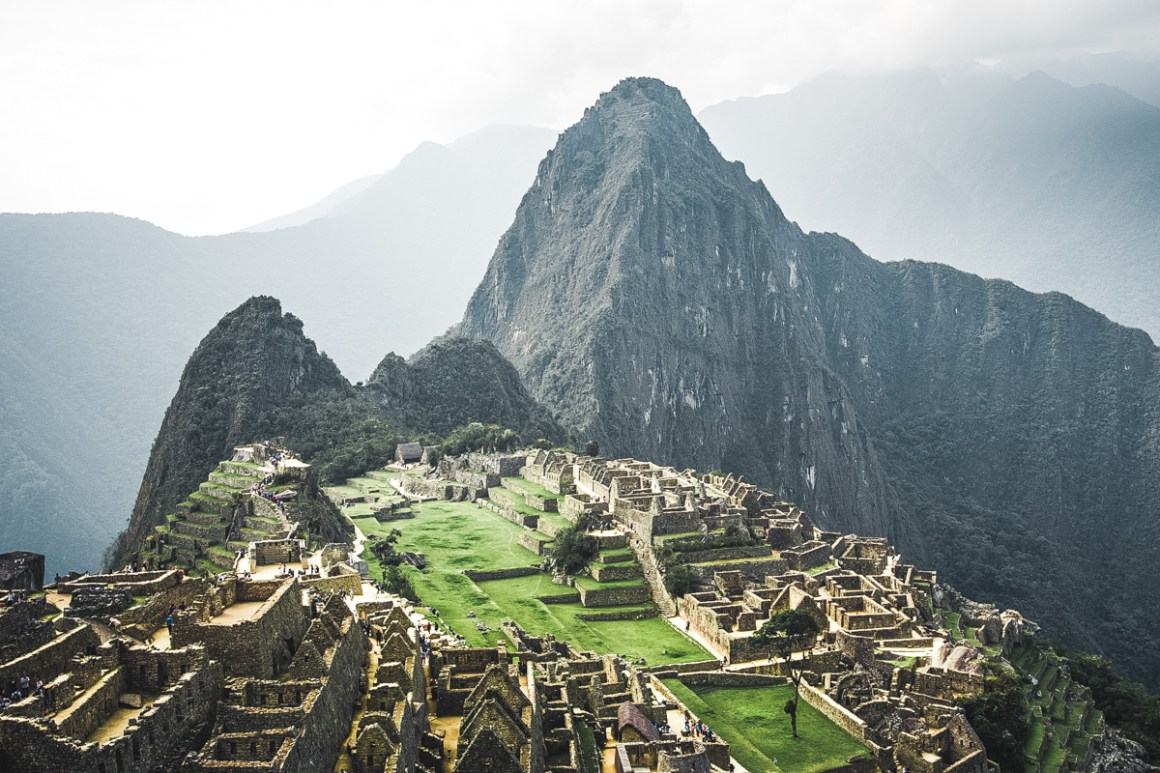Machu Picchu in de middag