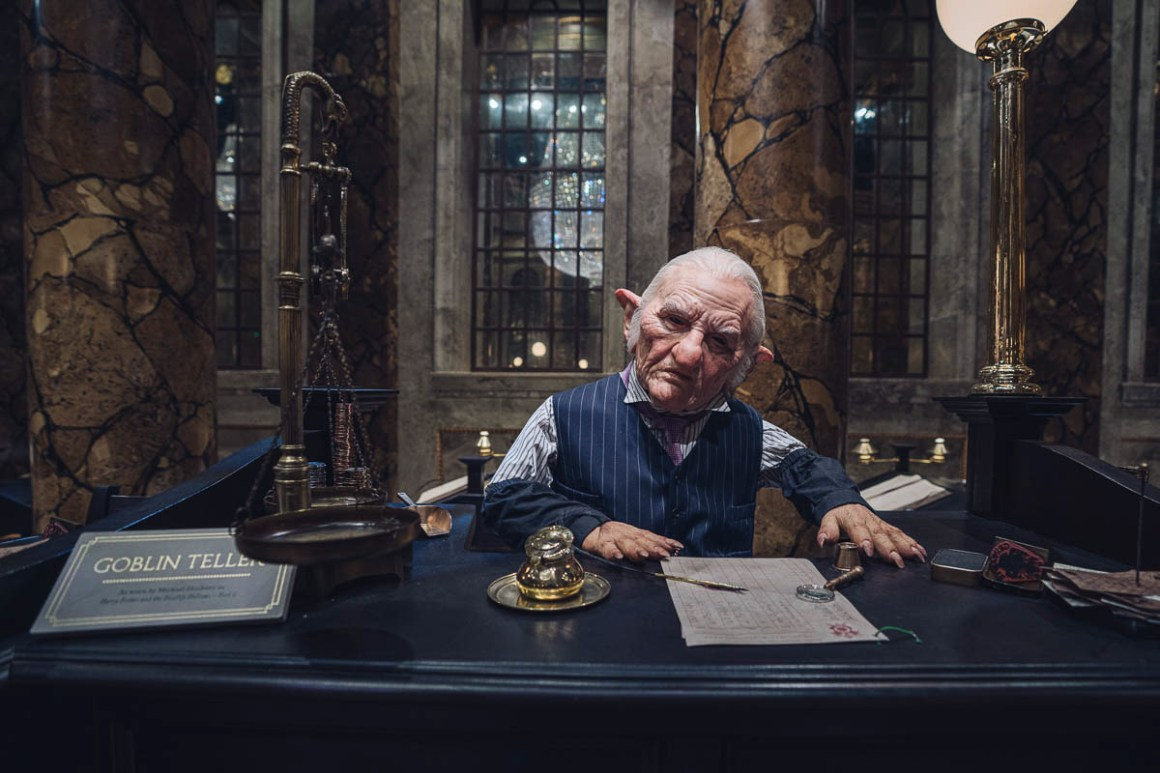 Gringotts and the Goblins Harry Potter Tour
