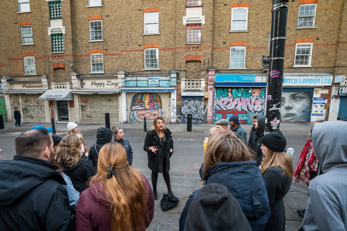 Londen Rock'N'Roll Tour Guide Sinead
