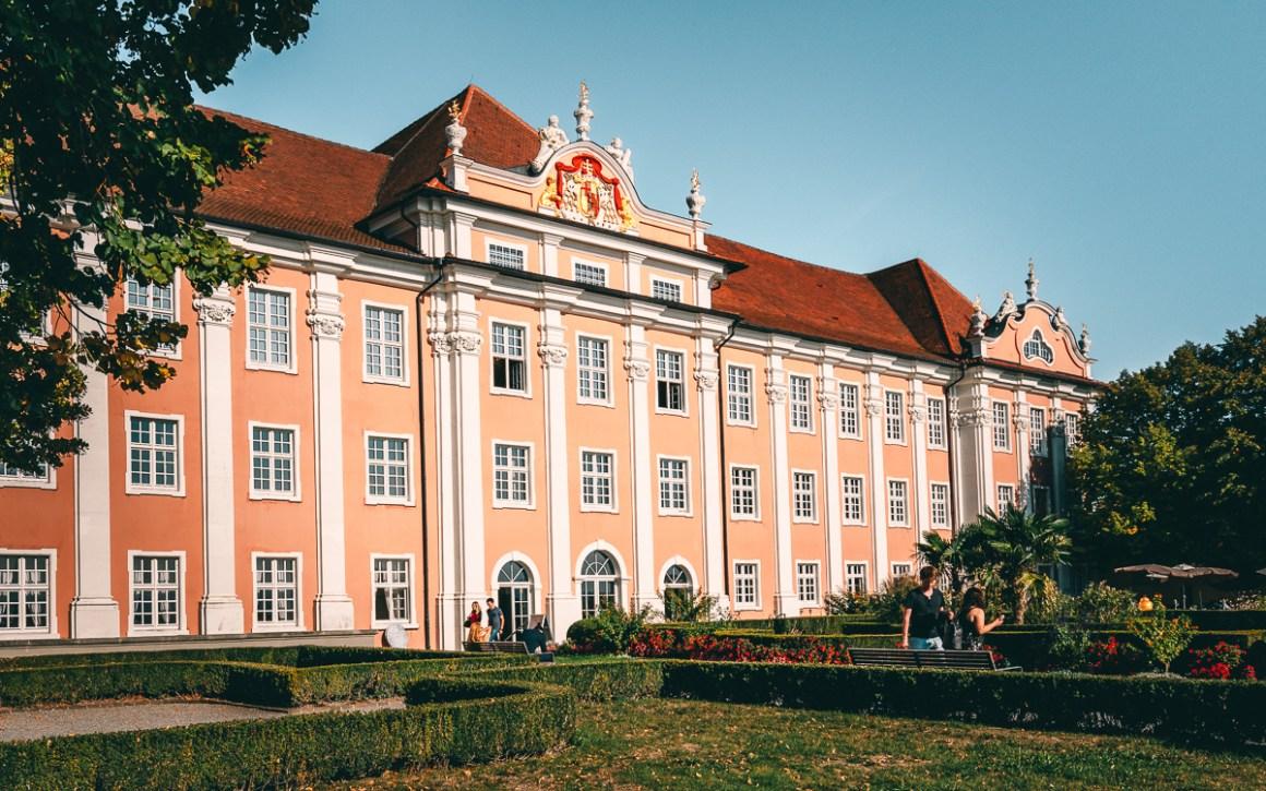 Nieuw kasteel Meersburg