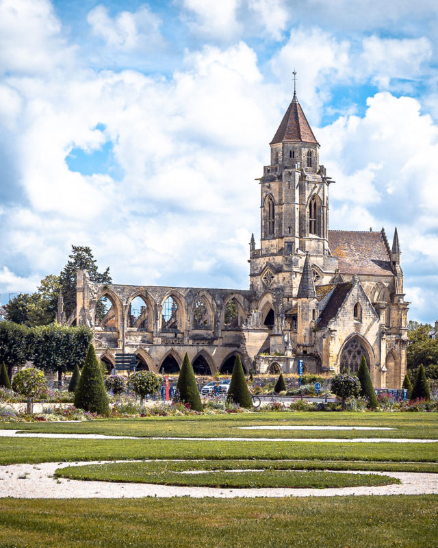 Oude St. Stephens Church Caen