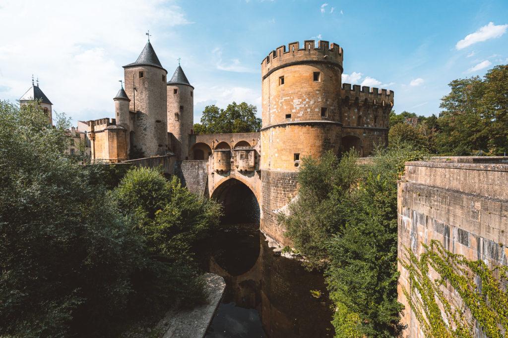 Duitse poort in Metz (Lorraine)