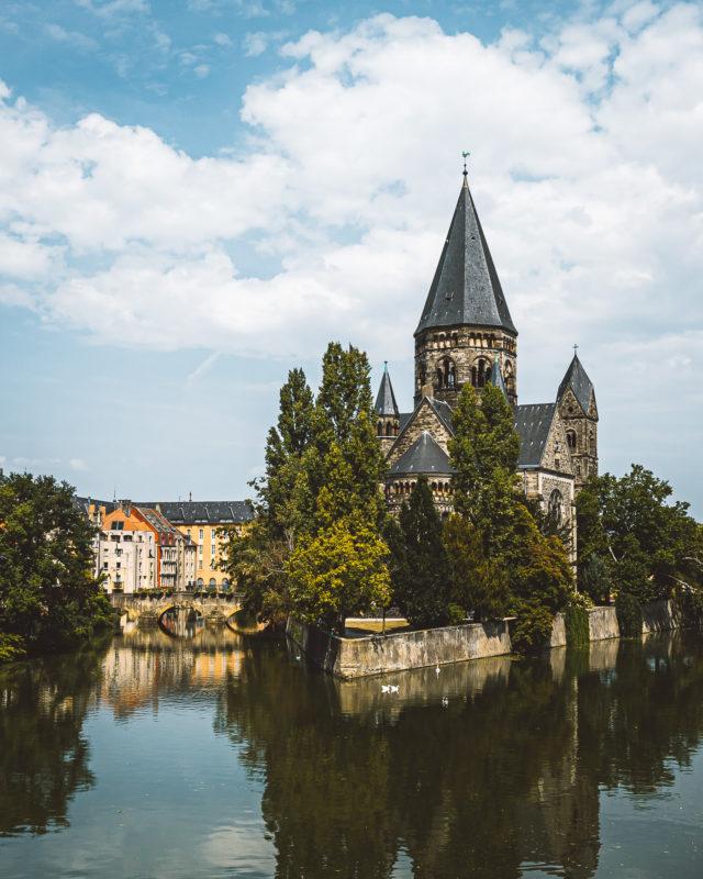 Temple Neuf markeert Metz