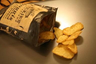 Chips mit Haggis-Black-Pepper Geschmack von Mackie's
