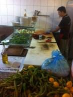 Canim Cigerim: Blick in die Küche - es wird alles ganz frisch gemacht