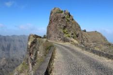Bergstraße auf Santo Antao