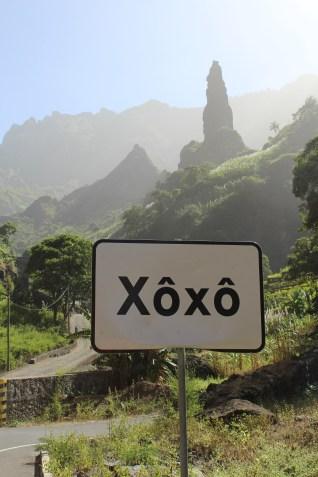 Xoxo auf Santo Antao