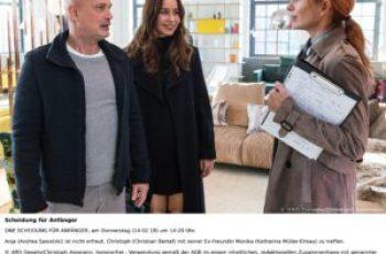 """20.15  Uhr im Ersten (ARD): """"Scheidung für Anfänger"""" mit Andrea Sawatzki und Christian Berkel"""