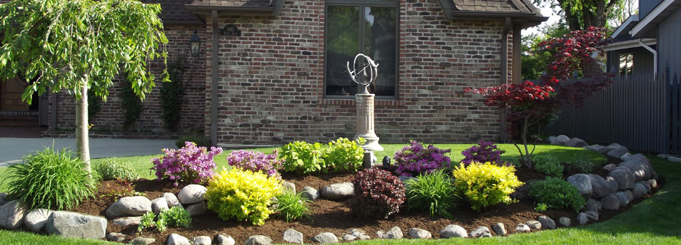 Maintenance Free Landscaping Front Yard