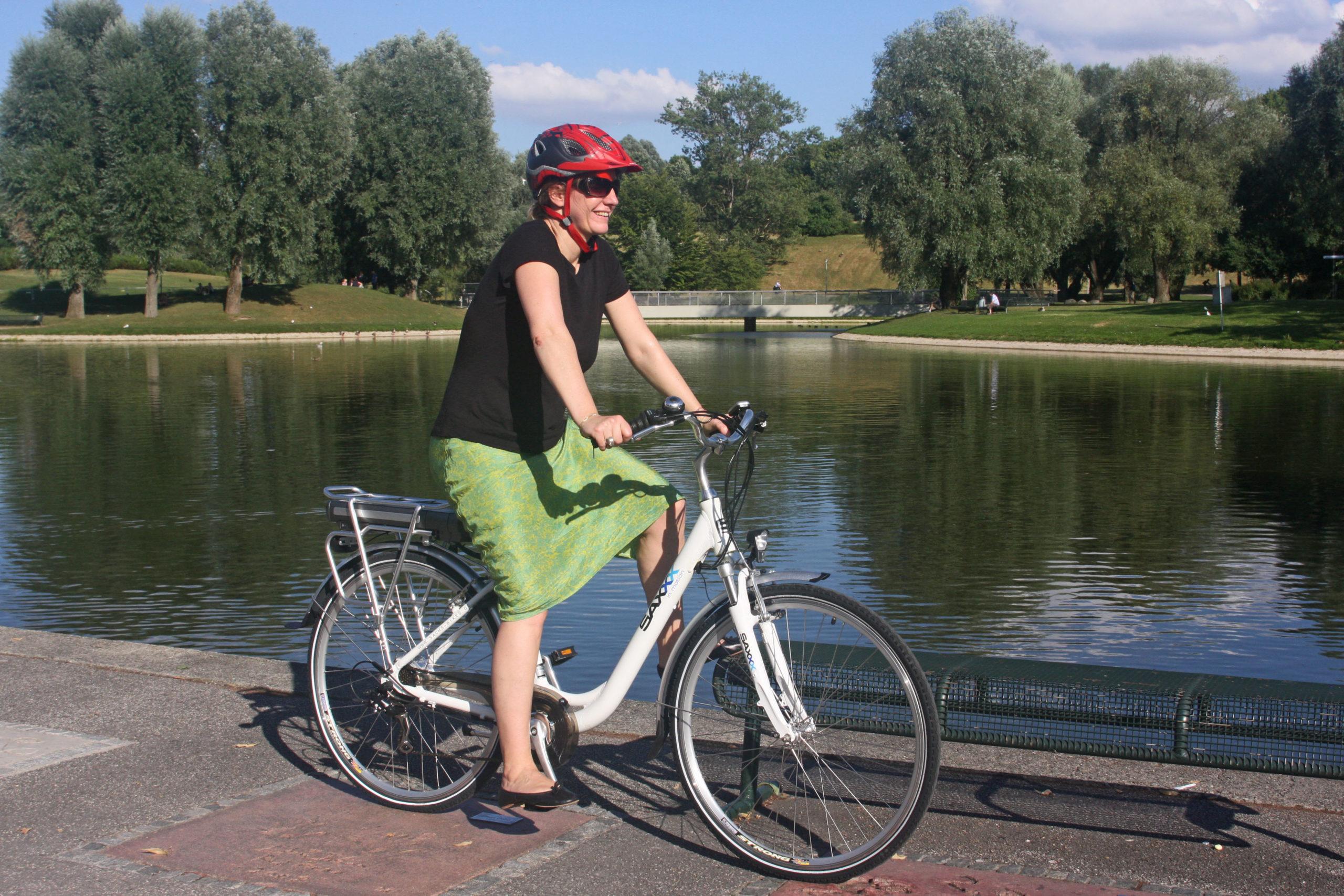 Fahrräder mit eingebautem Rückenwind legen zu