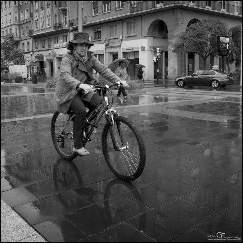 La bici con cualquier tiempo