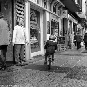 El pequeño ciclista
