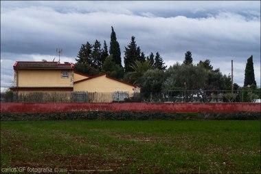El muro rojo