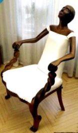 scaun barbat