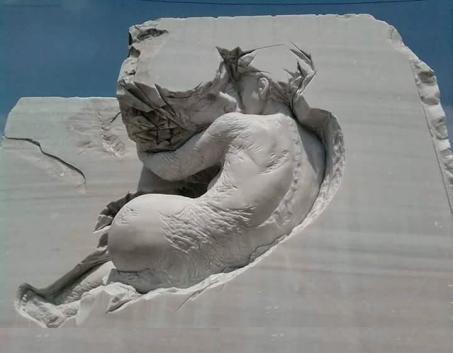 sculptura in piatra