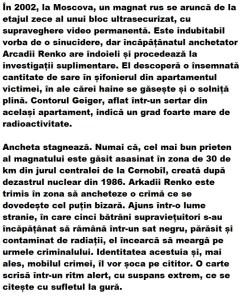 descriere carte urmarire la cernobil