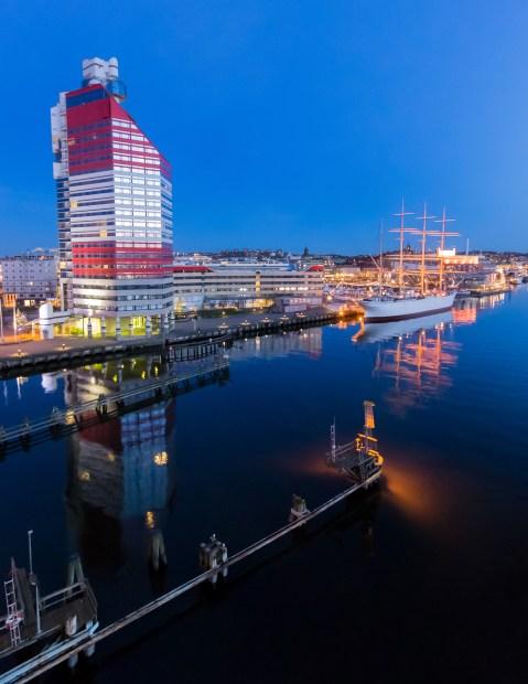 View from the Göta älv Bridge, Gothenburg