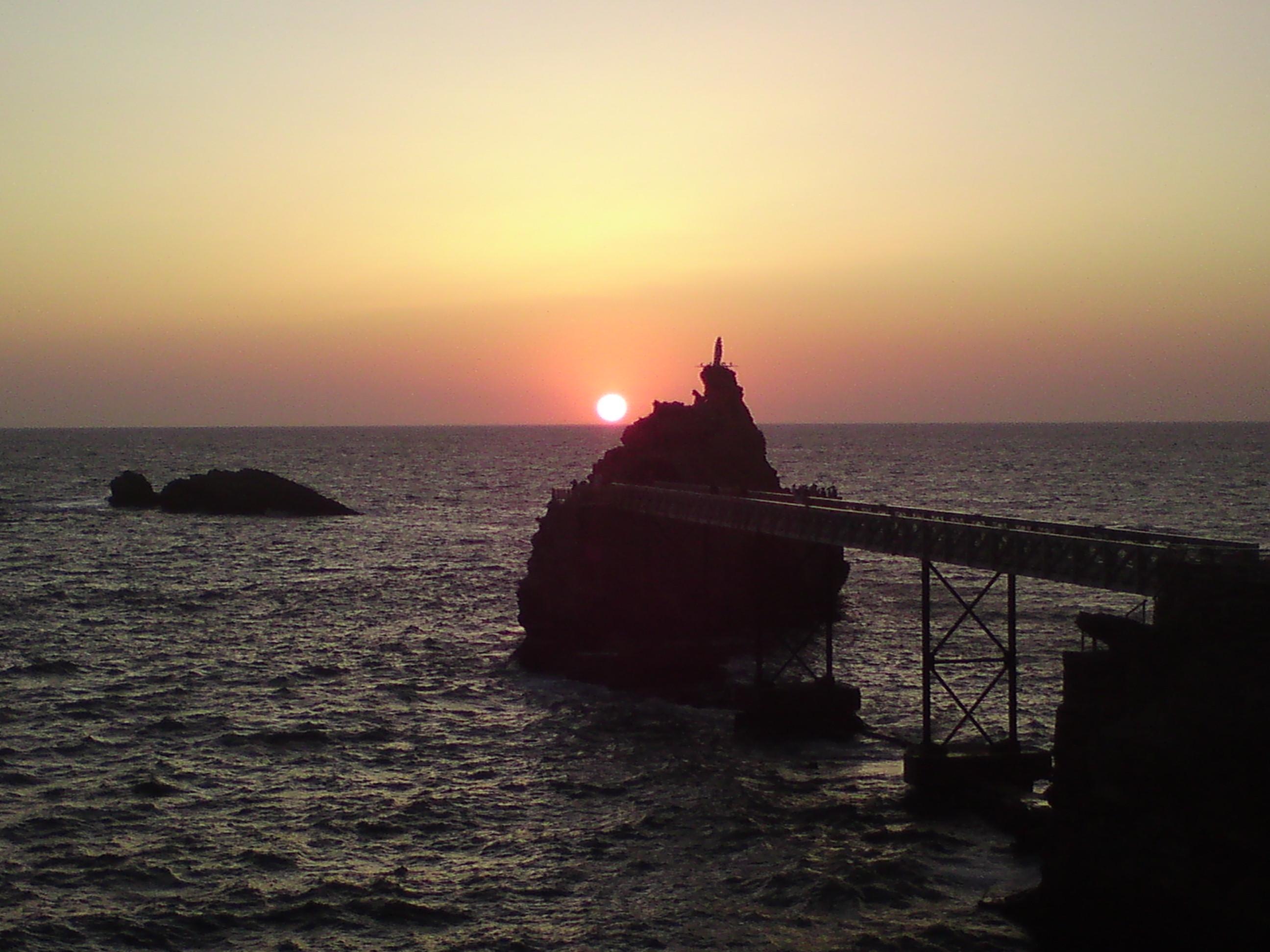 Sunset di Biarritz