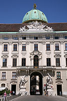 Entrance to the Hofburg