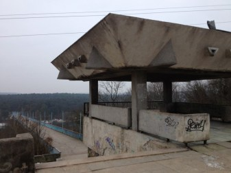 bridge in Kaunas