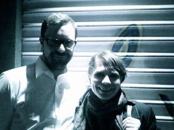 Edi Wolf (Edi & Wolf) and Edi-tor Antje Mayer