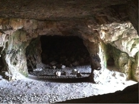 One of the mines located around Shiryaevo being used as an exhibition space for Biennale
