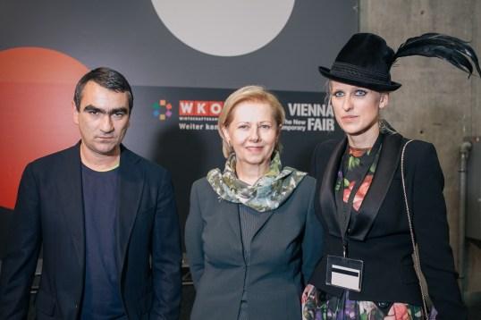 Nicolaus Schafhausen Brigitte Jank and Vita Zaman