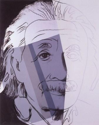Albert Einstein, Collection of the Blavatnik Family. Photograph courtesy of Ronald Feldman Fine Arts, New York