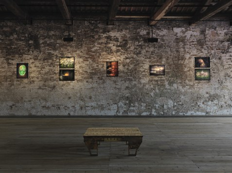 An installation at the Turkish Pavilion at the Venice Biennale 2015. Courtesy Andre Morin / Turkish Pavilion