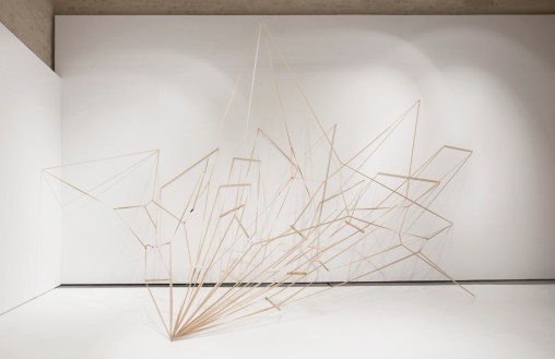 Kateřina Vincourová, ZAPOMENUTO V PAMĚTI, installation view, 2012, Fait Gallery, photocredit: courtesy of the gallery