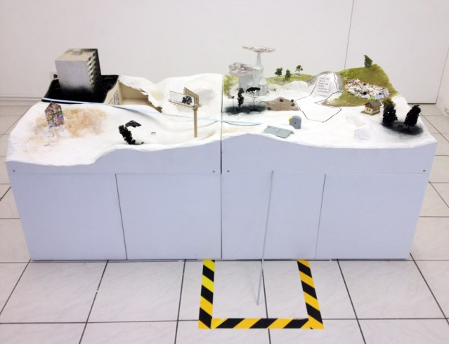 Aldo Giannotti and Kunstraum Super, Modell, installation, ongoing, photocredit: courtesy of the artist