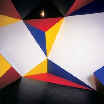 Roland Goeschl, Raum-Eck-Komposition, 1984