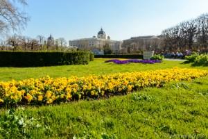 Vienna in spring: Volksgarten