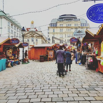 mercatino natale vienna 2017