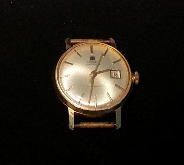 DIY Neues Armband für alte Uhr Tissot Visodate